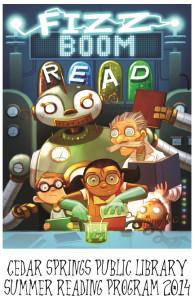 Summer Reading  Poster 2014