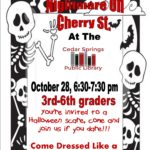 Nightmare on Cherry St.- Sharpen your detective skills to help us solve a mystery! Sign up at the library!!