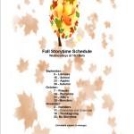 2015 Fall Schedule