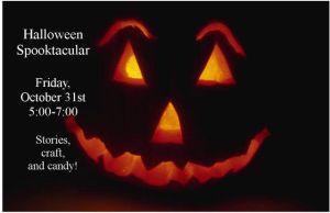Spooktacular @ Cedar Springs Public Library | Cedar Springs | Michigan | United States