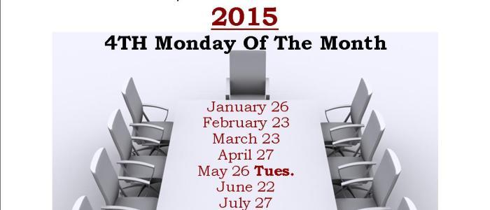 2015 Library Board Meetings
