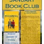 January 2015 Book Club