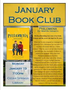 January 2015 Book Club