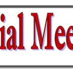 Special Board Meeting, Friday June 30, 2017
