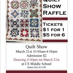 quilt Raffle Info for Clipboard