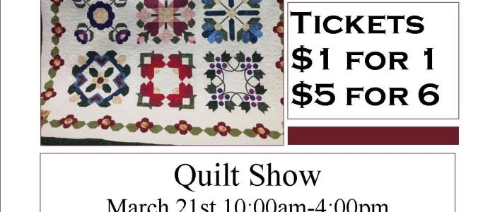 Quilt Show Raffle