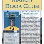 March 2015 Book Club