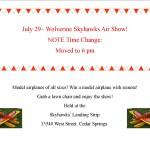 skyhawks air show