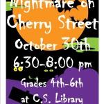 Nightmare on Cherry St poster