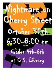 Nightmare on Cherry St poster