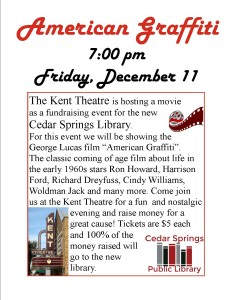 american graffiti fund raiser