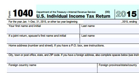 Looking for TAX FORMS 2015