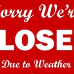 Closed Today, March 1, 2016