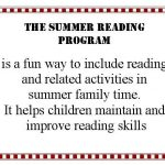 Summer Reading Activity Pages for all Ages