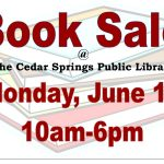 Friends of the Library BOOK SALE  Monday June13