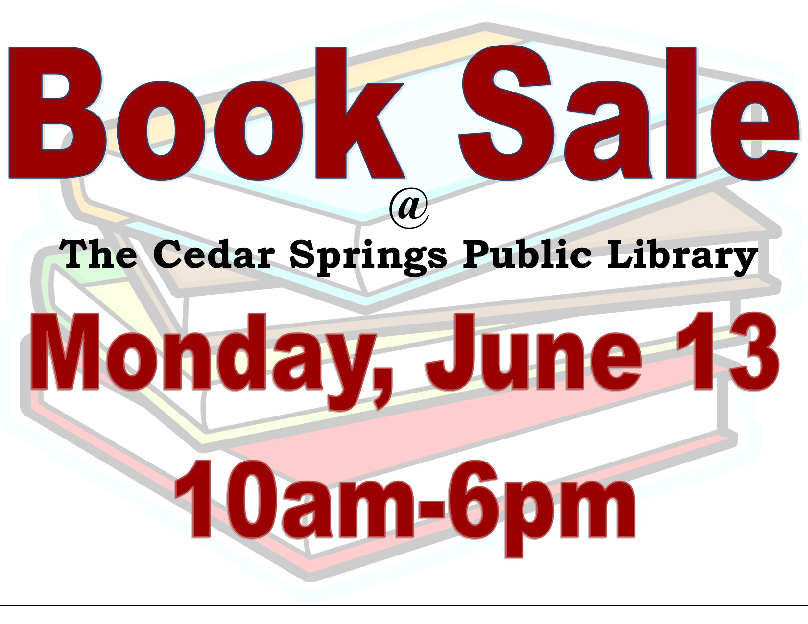 book sale 2016