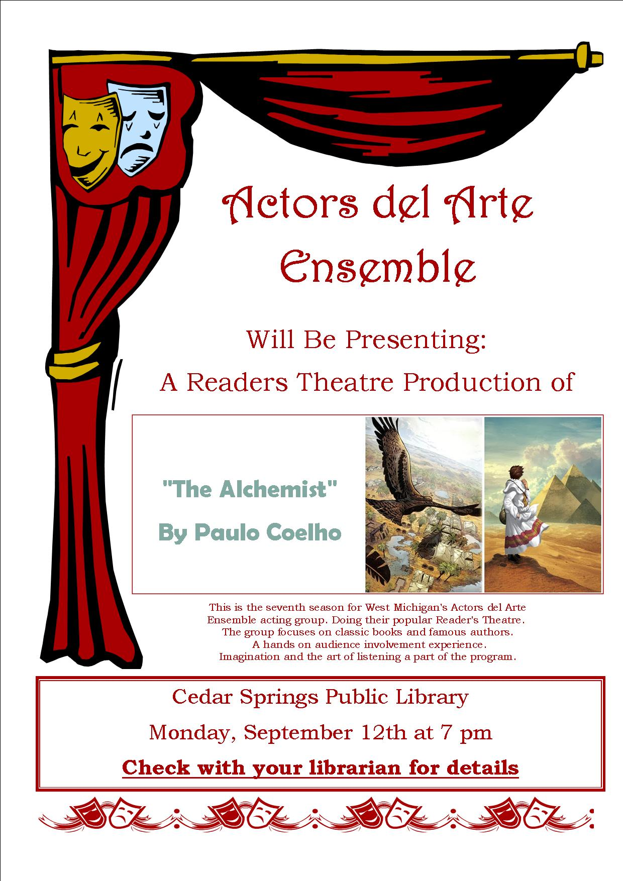 Actors Del Arte Ensemble 9.12.16