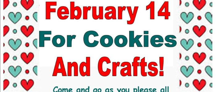 Valentine's Day Cookies and Crafts