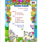 Spring Storytime Schedule