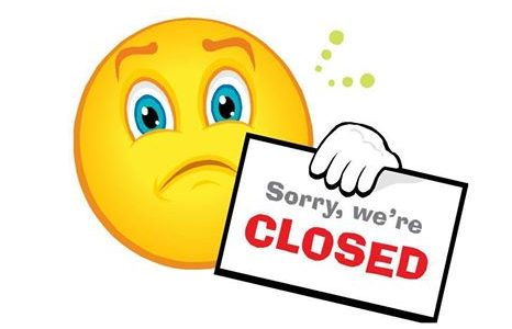 We are Closed. Packing to move!