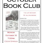 October Adult Book Club