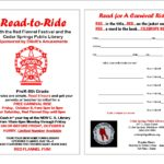 Read To Ride Program During Red Flannel Festival