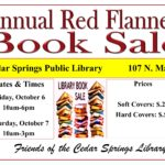 Annual Red Flannel Book Sale