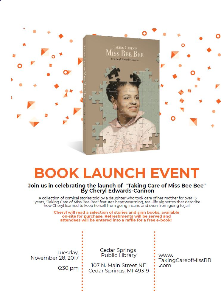 Book Launch Event - Nov 28th @6:30