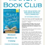 March Book Club – The Readers of Broken Wheel Recommend