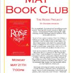 May Book Club: The Rosie Project – Monday May 21st