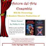 Actors del Arte Ensemble – May 31st
