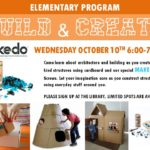 Build & Create – Elementary – Oct 10th