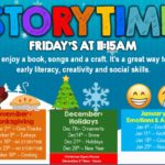 CHILDREN'S STORYTIME – FRIDAYS AT 11:15AM