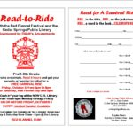 2018 READ TO RIDE PROGRAM