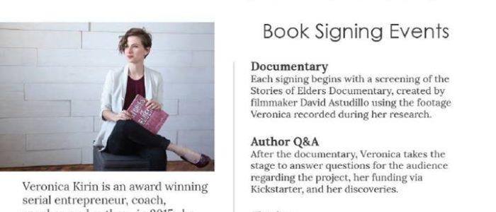 Book Signing: Veronica Kirin