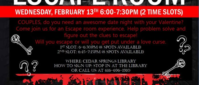 Adult Valentine's Escape Room