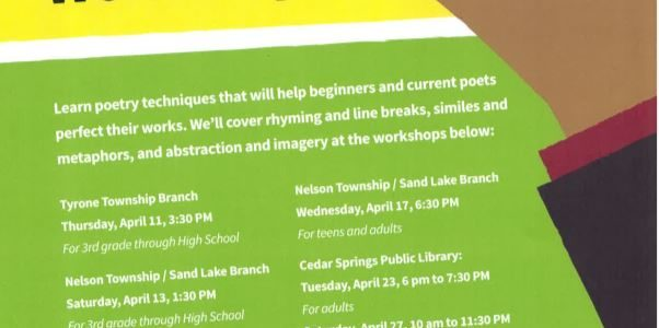 Poetry Practice Workshops and Poetry Reading
