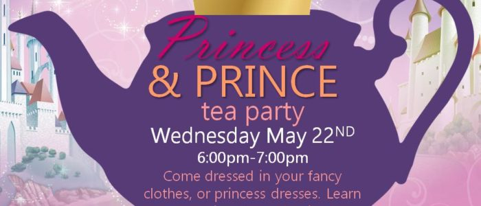 Princess & Prince Tea Party