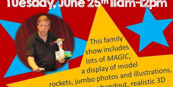 Mr. Jim Magic Show: Summer Reading Program Family Event