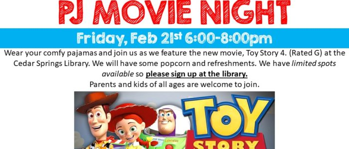 PJ Movie Night Family Event