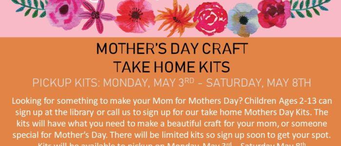 Mother's Day Gift Kits – If you signed up, pick up NOW!!!