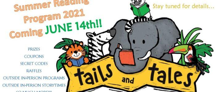 Summer Reading Program COMING JUNE 14th!!!