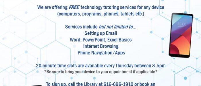 Tech Tutoring – Schedule An Appt. NOW