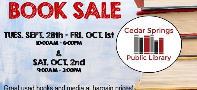 Red Flannel Days BOOK SALE